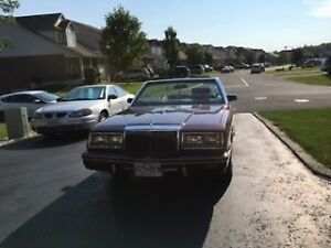 Classic 1982 Chrysler Lebaron Convertible - Excellent Condition
