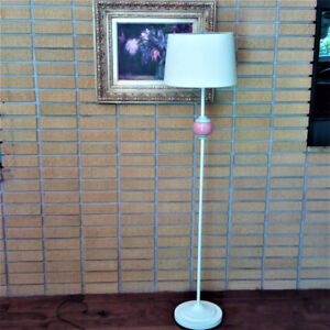 Mid Century floor lamp, free delivery to city (Hfx) firm price