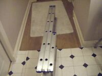Aluminium loft ladder 3 part for 10-12 feet rooms