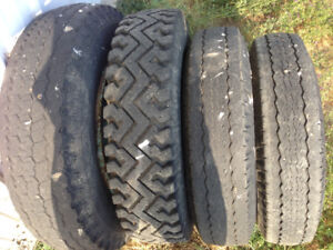 Chev 3/4 ton tires and rims
