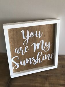 "Wood Sign- ""You are my sunshine"""