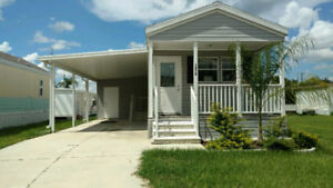 Brand New Fully Furnished Park Model For Rent In Zephyrhills