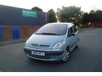 CITROEN XSARA PICASSO SX DIESEL - ONLY 1 OWNER FROM NEW - LONG MOT - IDEAL FAMILY CAR -FREE DELIVERY