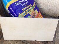 20 white marble effect ceramic tiles