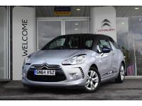 2014 Citroen DS3 1.2 PureTech Dsign Plus 3 door Petrol Hatchback