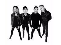 Metallica @ The o2 2 x Standing tickets available will negotiate price 24/10/17 @ 6pm