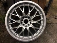 "17"" deep dish alloys 5x112 5x100 Audi Subaru"