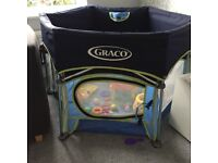 Graco playpen sport with sun canopy