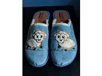 New Pavers Anti Shock Size 6 Slippers Blue