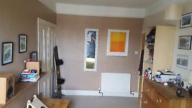 Large double room. Light airy town house