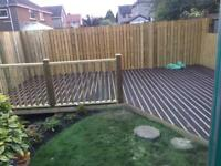 Decking/Fencing/Landscaping