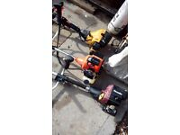 3 x Petrol Strimmer-Sold as seen-Spares or repair