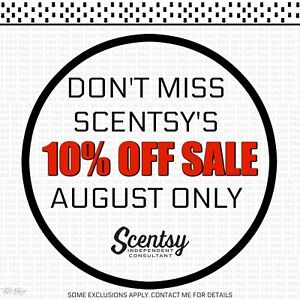 Scentsy's 10%off Sale Happening NOW!!!