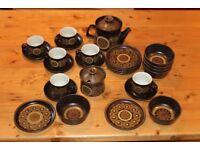 Arabesque Denby Stoneware - 26 piece breakfast service