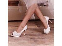 Diane Hassal Wedding shoes BNIB Size 5