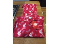 Liverpool FC boys Pyjamas official merchandise size age 9-10 new