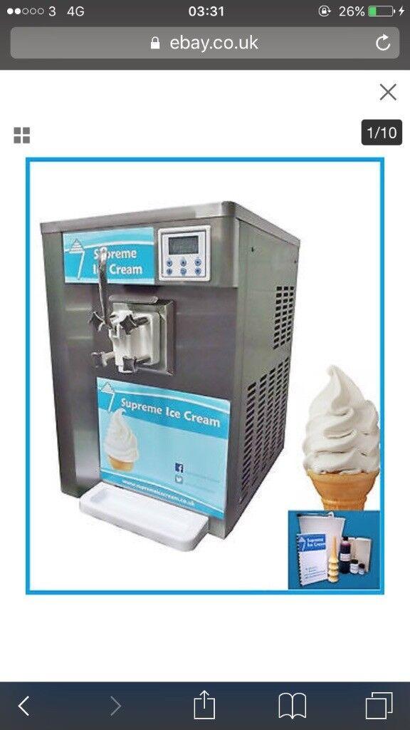 ice cream machine £2000 must go