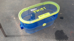 Habitrail classic and habitrail twist hamster cages