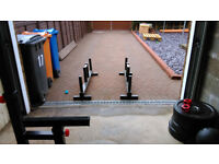 Farmers Walk handles - Olympic weight plates, weightlifting, strongman, powerlifting
