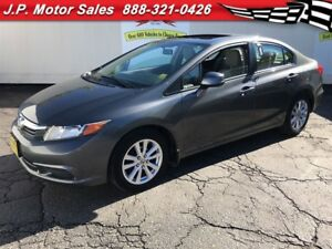 2012 Honda Civic EX, Automatic, Steering Wheel Controls