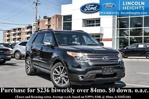 2015 Ford Explorer XLT 4WD - LEATHER - BLUETOOTH - DUAL PANEL MO