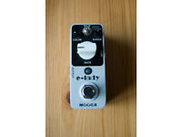 Mooer E-Lady Flanger Pedal Electric Mistress Clone