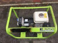 E3250 160gx Honda generator pramac
