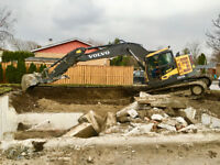 Excavation Services, Foundations & Additions