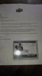 Sidney Crosby Autographed Card