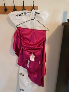 Formal dress (magenta) size 7-8