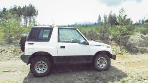 1992 Geo Tracker SUV, Crossover