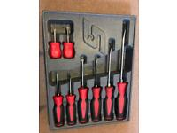 Snap-on 8 piece screwdriver combination set