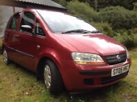 Fiat Idea Active Multijet Diesel Car - lovely wee runaround OPEN TO OFFERS