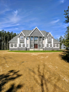 Beautiful Dream Home on 20 Acres 7 mins East of Sherwood Park!