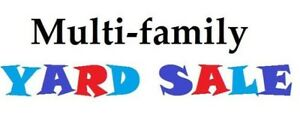 Multi-family garage sale. Friday and Saturday 11-4