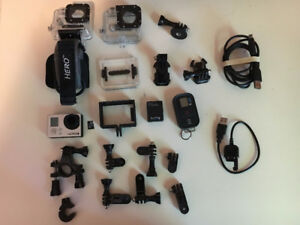 Go Pro Hero 3 Black Edition with accesories