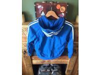 Adidas hoody & t shirt set age 10