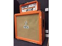 Orange AD30 Head and stack