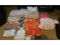 Baby girls bundle new born to to 3months
