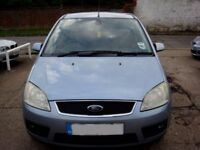 FORD FOCUS C MAX C-MAX 1.8 16V BLUE 2005 PETROL MANUAL NEW MOT Full SERVICE & FULL SERVICE HISTROY