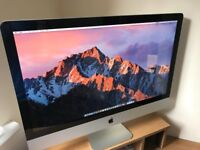 iMac 27-inch, Mid 2011 Model (3.1 GHz Intel Core i5, 8GB RAM, 1TB HDD, AMD Radeon HD 6970M)