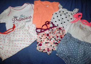 Baby Girl Lot of clothes sizes 18-24 months
