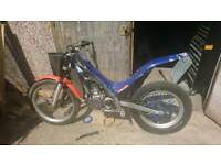 Sherco 290 2005 frame - breaking full bike
