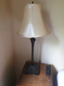 Floor and table lamp (set)