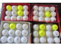 Titleist DT and PTS Solo Golf Balls