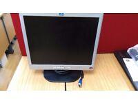 """HP 1702 17"""" Monitor (Job Lot)"""