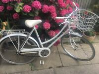 Vintage Ladies Raleigh Bike Caprice with basket