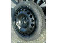 """New 16"""" Vauxhall/ GM Space saver wheel, Continental tyre."""