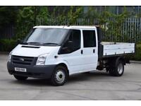 2.4 350 DRW 4D 100 BHP LWB DOUBLE CAB RWD TWIN WHEEL COMBI TIPPER 2011