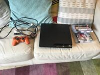 Playstation 3 PS3 Slim 320 GB Good Condition with Games Pack